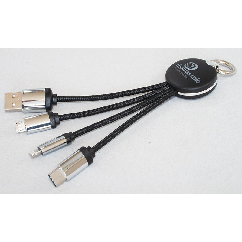 4 in 1 LED Charging Cable
