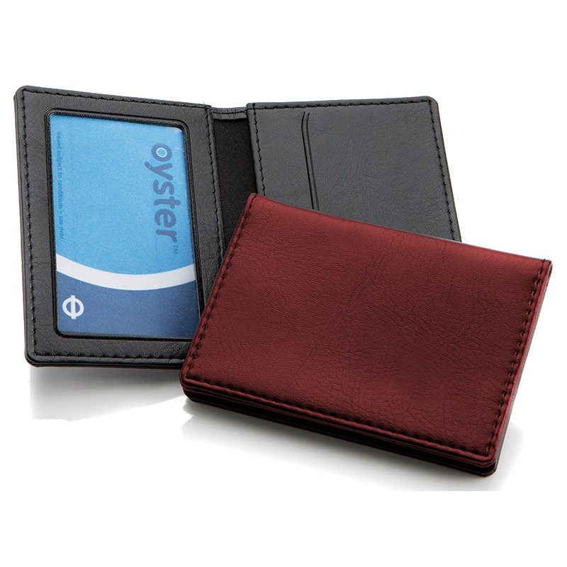 Belluno Leatherette Oyster Travel Card Case